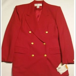 Lady Red Wool Jacket